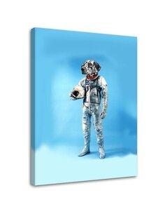 Tableau Astronaut With A Dog's Head