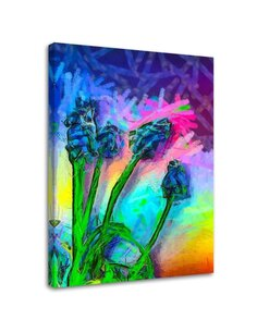 Tableau Abstract Flowers