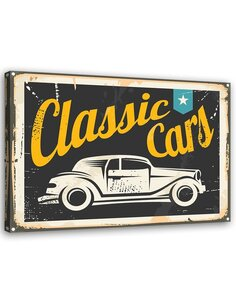 Tableau Classic Cars Sign