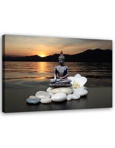 Tableau Buddha Over The Sea