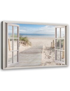 Tableau Window To The Beach
