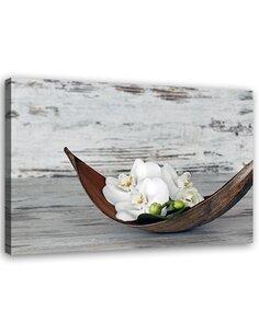 Tableau Flower On The Wood