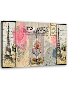 Tableau Paris Post Card