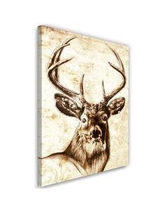 Tableau Deer Vintage Theme