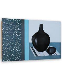 Tableau bois Abstract Still Life