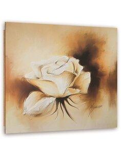 Tableau bois Rose beige