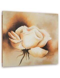 Tableau bois Beige Rose