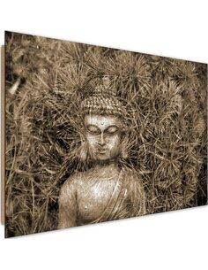 Tableau bois Statue of Buddha 4