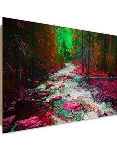 Tableau bois Fairytale Forest 3