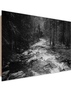 Tableau bois Fairytale Forest 2