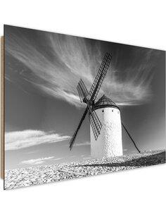 Tableau bois windmill 2
