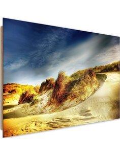 Tableau bois Dunes