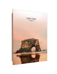 Tableau bois Santa Cruz