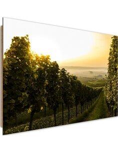 Tableau bois green vineyard
