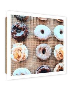 Tableau bois Tasty Donuts