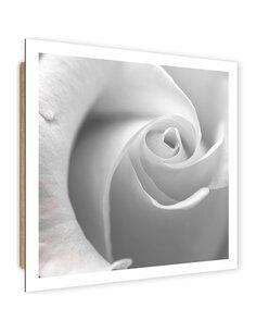 Tableau bois White Rose