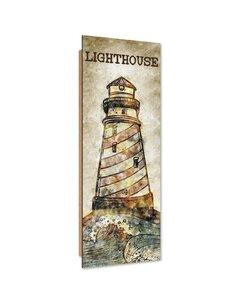 Tableau bois Lighthouse