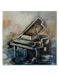 Tableau bois Piano