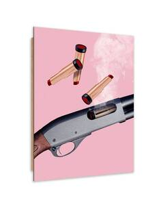 Tableau bois weapon lipstick