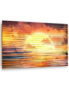 Tableau bois Magic sunset