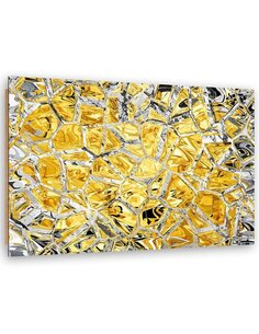 Tableau bois Glass mosaic