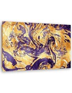 Tableau bois Purple composition