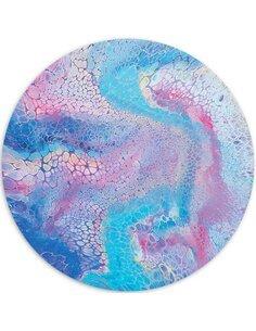 Tableau bois Blue Marble