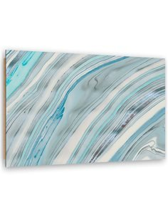 Tableau bois Marble, abstraction
