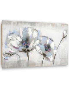 Tableau bois Painted flowers