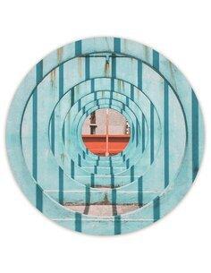 Tableau bois iron wheels