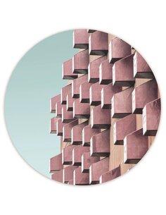 Tableau bois Modern block