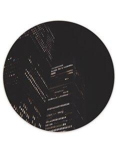 Tableau bois Lights skyscraper