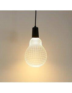 Applique Applique Bulbing BULB 3D Lumière Led