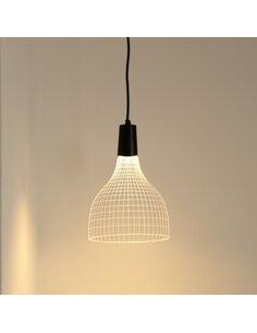 Applique Suspendue Bulbing SHADE 3D Lumière Led