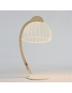 Lampe Bulbing DOME 3D Lumière Led