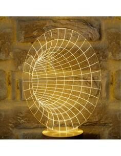 Lampe Bulbing TUNNEL 3D À Lumières Led