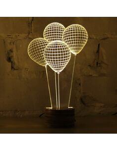 Lampe Bulbing BALLONS 3D À Lumières Led