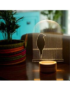 Lampe Bulbing BIRD 3D À Lumières Led