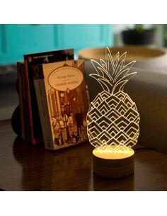 Lampe Bulbing ANANAS 3D À Lumières Led