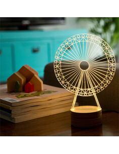 Lampe BULBING Ferris Wheel 3D À Lumières Led
