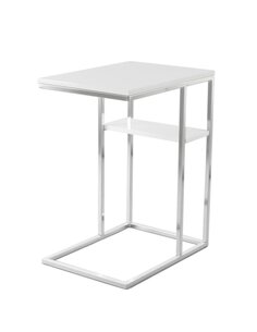 Table d'appoint Luciana 225   Kayoom   Argent blanc