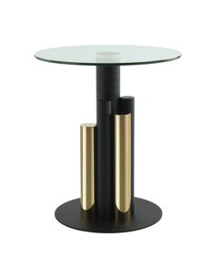 Table d'appoint Ontario 225   Kayoom   Or, clair