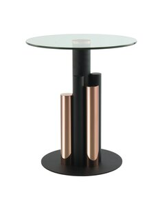 Table d'appoint Ontario 225 | Kayoom | Or rose, clair