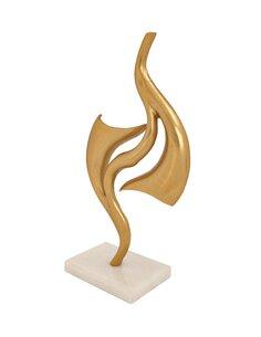 Sculpture Clue 125 | Kayoom | Or et blanc