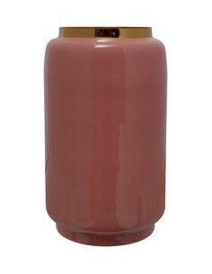 Vase Art Deco 445 | Kayoom | Rose et or