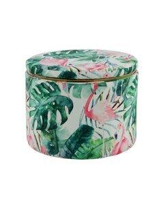 Pouf avec rangement Forest 425 | Kayoom | Multicolore et vert