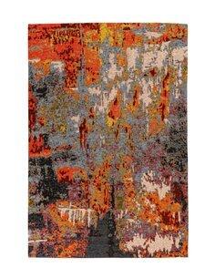 Tapis Primavera 525 | Padiro | Multicolore et rouge