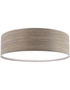 Plafonnier Natural   BPS Koncept   Mesh marron gris intérieur blanc