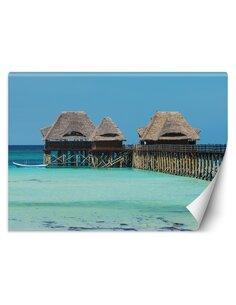 Papier peint MaldivesL | Feeby | Bleu