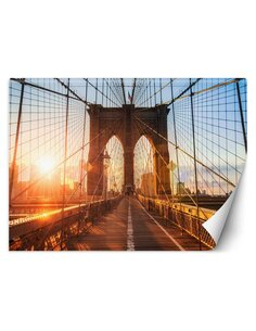 Papier peint le pont de BrooklynL   Feeby   Bleu